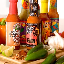 Christmas Gifts for Grandfather:Hot Sauce Of The Month Club