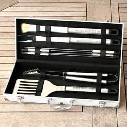 Unique Retirement Gifts for Coworkers (Under $100):Personalized Grilling Tool Set