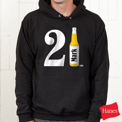 Personalized Birthday Sweatshirts - 21st..