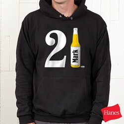 Personalized Gifts for Men:Personalized Birthday Sweatshirts - 21st..
