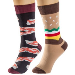 13th Birthday Gifts:Meat Socks By Sock It To Me