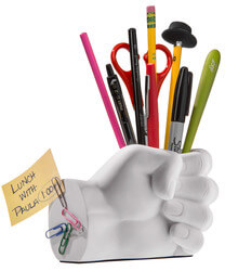 Hand Pen Holder and Desk Organizer