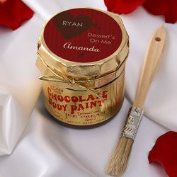 Gifts for Girlfriend:Personalized Chocolate Body Paint