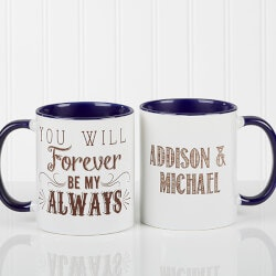 Personalized Gifts (Under $10):Romantic Personalized Coffee Mugs - Love..