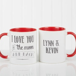 Personalized Gifts (Under $10):Love Quotes Personalized Romantic Couples..