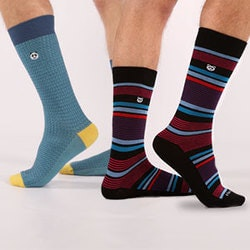 Funny Birthday Gifts for Boyfriend:Stylish & Suave Socks Subscription For Him