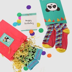 Unique Gifts for 3 Year Old:Kids Socks Subscription