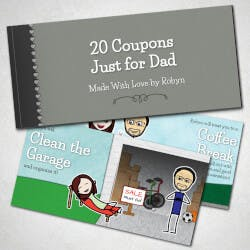 Fathers Day Personalized Coupons