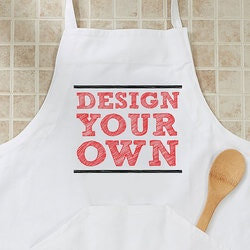 Unique Birthday Gifts for Mom:Design Your Own Apron