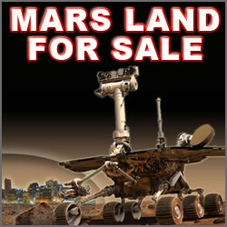 Gifts for Dad:1 Acre Of Land On Planet Mars
