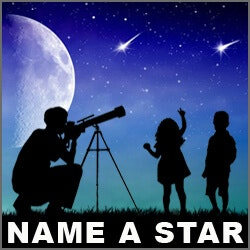 Unique Valentines Day Gifts for Teens:Name A Star