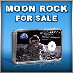 Unique Christmas Gifts for Kids:Real Moon Rock