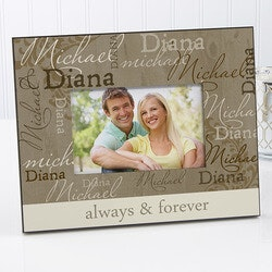 Romantic Gifts:Personalized Picture Frames - Loving Couple