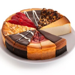 40th Birthday Gifts for Friends:Presidents Choice Cheesecake Sampler
