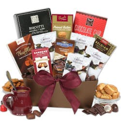 Coffee And Chocolates Gift Basket