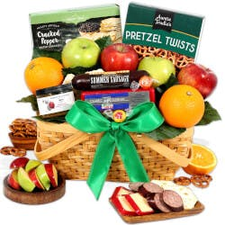Fruit Gift Basket Deluxe