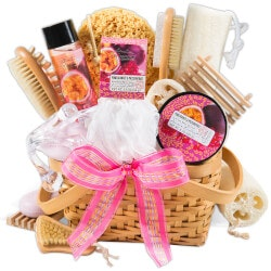 40th Birthday Gifts for Friends:Premium Spa Gift Basket