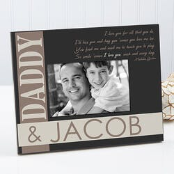 Personalized Father & Son Picture Frames - I..