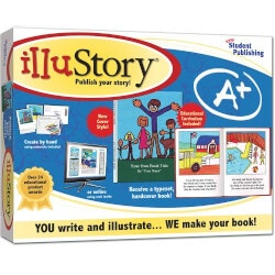 Birthday Gifts for 5 Year Old:Illustory Make-A-Book Kit