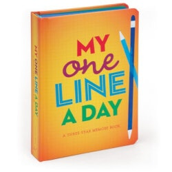 Gifts for Baby:One Line A Day: 3-Year Memory Book