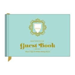 Unique Gifts:Bathroom Guest Book