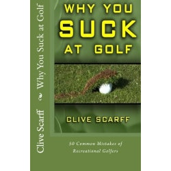 Funny Birthday Gifts for Coworkers:Why You Suck At Golf