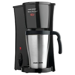 5th Anniversary Gifts Under $25:Brew n Go Personal Coffeemaker