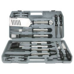 18-Piece Stainless Steel Tool Set