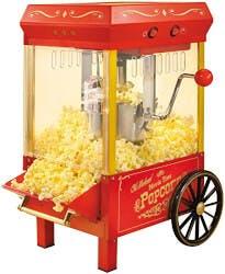 Mini Vintage Kettle Popcorn Maker