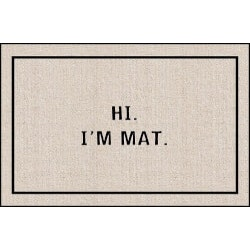 Unique Gifts for 17 Year Old:Hi I Am Mat