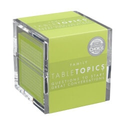 Unique Gifts (Under $25):TABLETOPICS Family