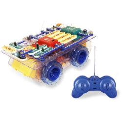 Unique Christmas Gifts for Kids:Snap Circuits RC Rover