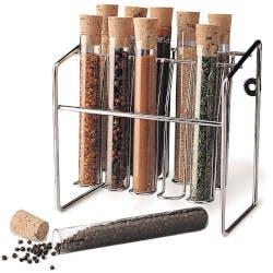 Spice Rack Glass Tube Set