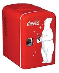 Personal 6-Can Mini Fridge