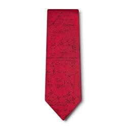 Mathematics Silk Tie