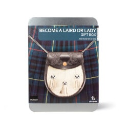 5th Anniversary Gifts Under $25:Become A Laird Or Lady Gift Box