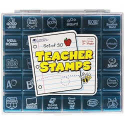 Experience Gifts:Jumbo Teacher Stamps