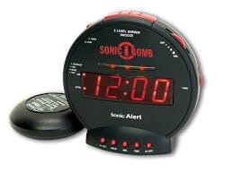 Sonic Bomb Alarm Clock