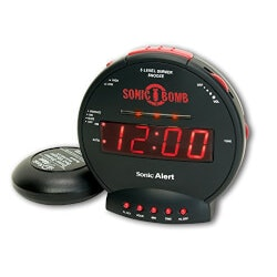 Unique Gifts for 13 Year Old:Sonic Bomb Alarm Clock