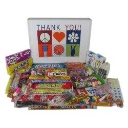Thank You Gift Basket Box