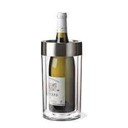 Gifts for Women Under $25:Double Walled Iceless Wine Bottle Chiller
