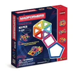 Gifts for 10 Year Old Boys:Magformers 62 Piece Set