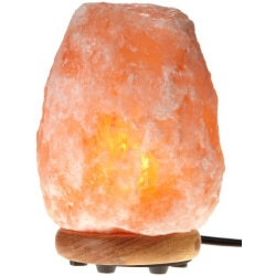 Christmas Gifts for Women Under $25:Natural Air Purifying Himalayan Salt Lamp