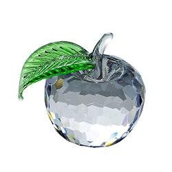 Crystal Apple Figurine