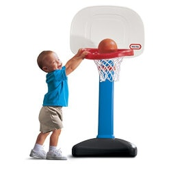 Christmas Gifts for Kids Under $50:Little Tikes Basketball Set