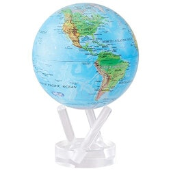 7th Anniversary Gifts for Boys:MOVA Rotating World Globe