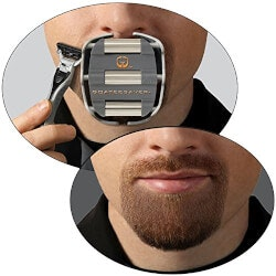 Romantic Gifts:The Goatee Shaving Template