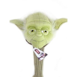 Golf Christmas Gifts for Coworkers:Yoda Star Wars Golf Headcover