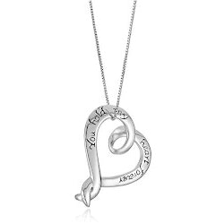 Christmas Gifts for Women Under $10:You Hold My Heart Forever Necklace