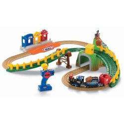 Gifts for 3 Year Old Boys:Remote Control Timbertown Railway